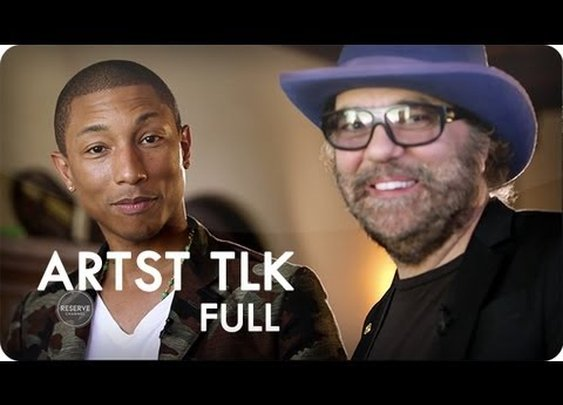 Daniel Lanois & Pharrell Williams at Home in the Studio | ARTST TLK™ Ep. 7 Full | Reserve Channel - YouTube