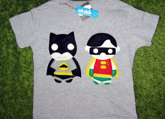 Batman & Robin Toddler Shirt