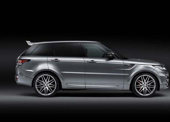 Range Rover Sport 2014 Tuned by Brabus-owned Startec