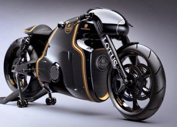 Lotus C-01: A Gorgeous Superbike