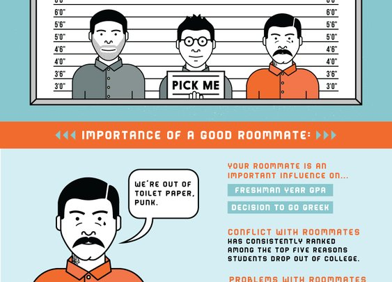 Dorm Life: How to Choose Your First Roommate