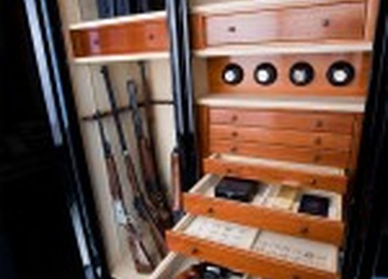Luxury Gun Safe by Brown | StashVault
