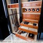 Luxury Gun Safe by Brown | StashVault