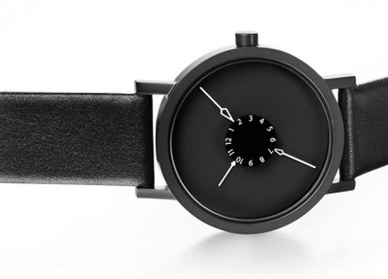 Nadir watch draws your eye to its center