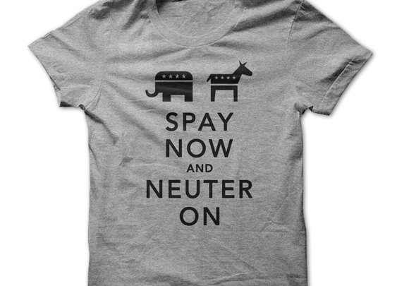 Spay Now And Neuter On