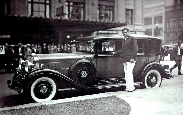 The Bambino and his Ruthian Cadillac