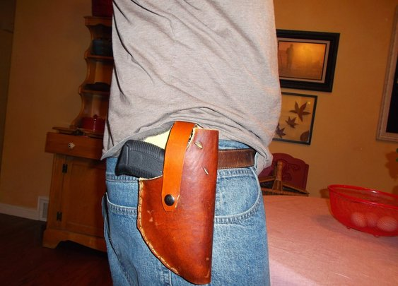 The Sharpened Axe: Make a Holster