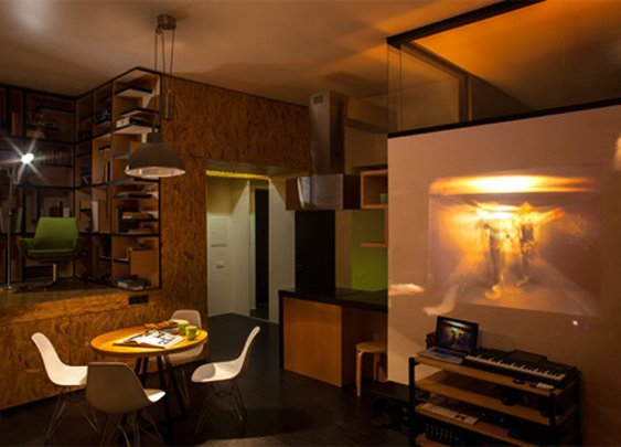 Loft/modern/traditional apartment