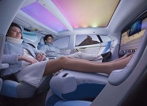 Rinspeed XchangE - Autonomous Driving Concept