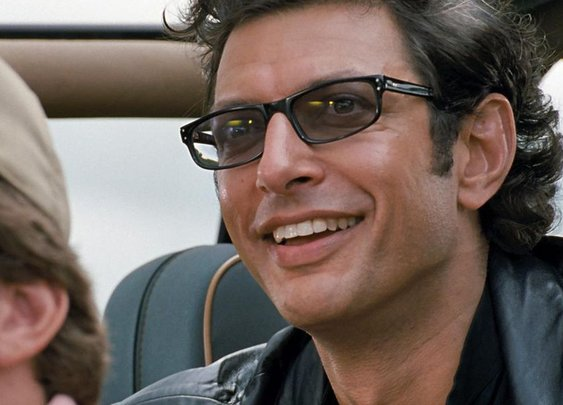 Someone made a song using Jeff Goldblum's weird laugh from Jurassic Park · Great Job, Internet!  · The A.V. Club