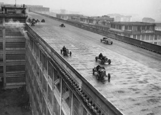 An old Italian race track on a rooftop (26 Photos) : theCHIVE