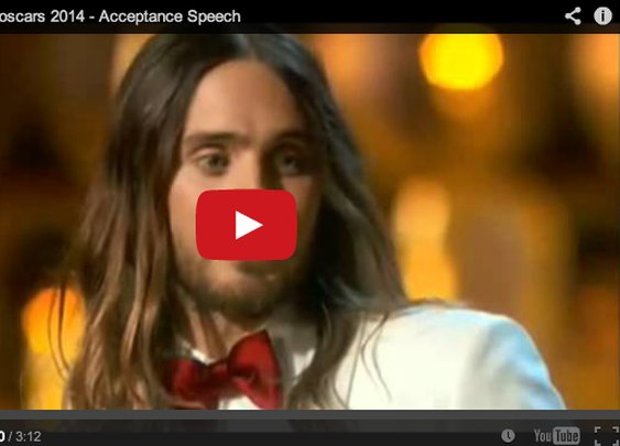 Jared Leto Speaks For Ukraine and Venezuela