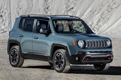 2015 Jeep Renegade leaks out ahead of Geneva debut - Autoblog