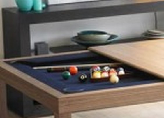 Pool Table Hidden in Kitchen Table | StashVault