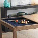 Pool Table Hidden in Kitchen Table | StashVault