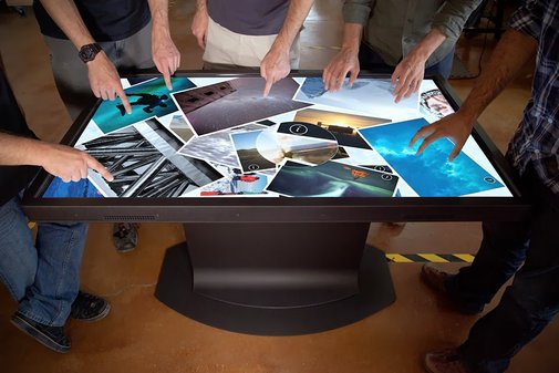 MULTITOUCH COFFEE TABLES FROM IDEUM