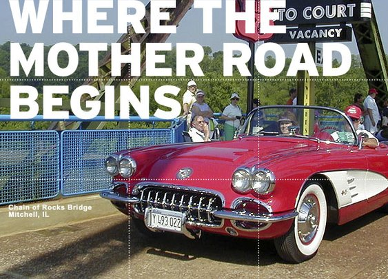 Where the Mother Road begins