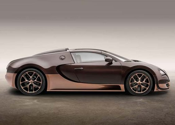 Rembrandt honored with limited-edition Bugatti Veyron