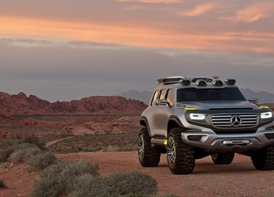 Vision Ener-G-Force – Off-road for the future. - Mercedes-Benz.com