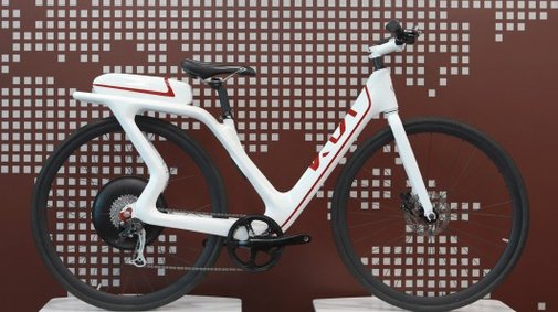 KIA shows two electric bikes and a new manufacturing process