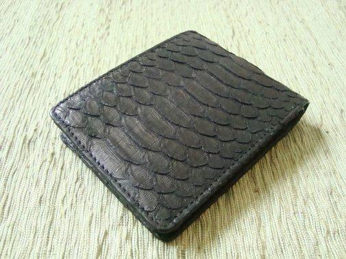 Mens Wallet   Snakeskin Wallet. Men Leather Wallet. by mrhanz