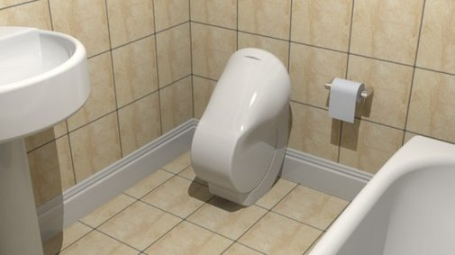 Iota aims to make the toilet smaller, more efficient