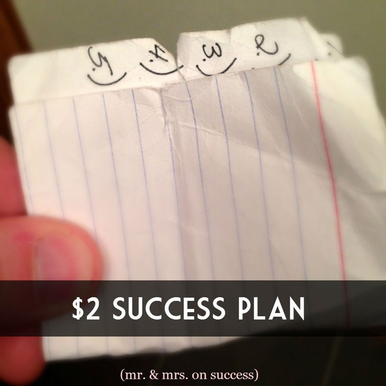 $2 Success Plan | Mr. & Mrs. on SuccessMr. & Mrs. on Success