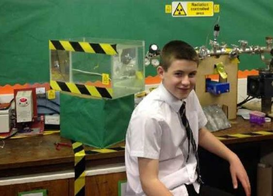 13-Year-Old Builds Nuclear Reactor for Science Project