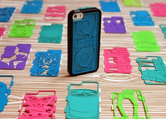 Fraemes: 3D-Printed iPhone Case
