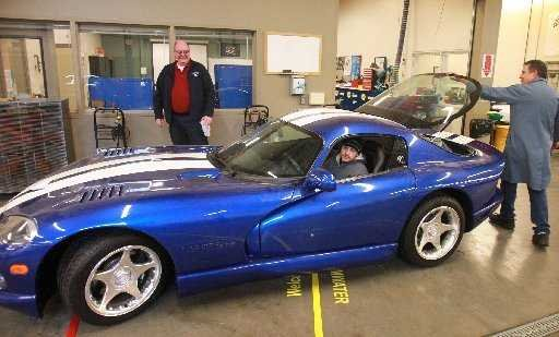 SPSCC ordered to crush rare Dodge Viper | Local News | The Olympian