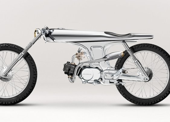 Bandit9 Eve Motorcycle: A Rolling Art Piece