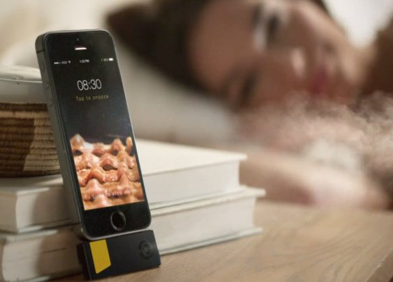 New App Wakes You Up With The Smell of Bacon