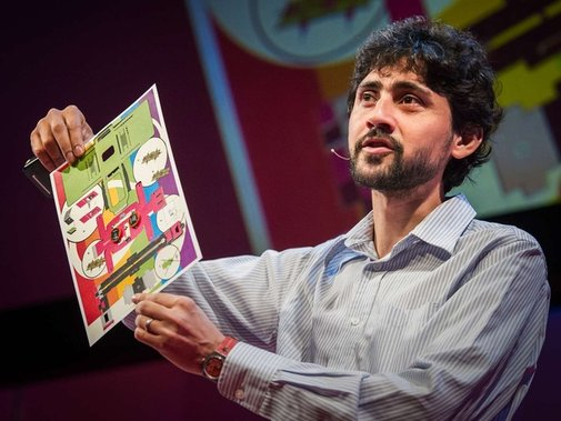 Manu Prakash: A 50-cent microscope that folds like origami | Talk Video | TED