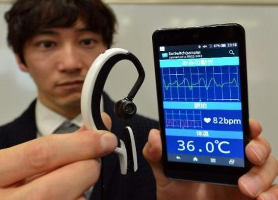 Japanese Researchers Unveil New Wearable Computer For Your Ear