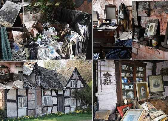 Inside the haunted Old Crow Cottage, in Willersley, Herefordshire | Mail Online