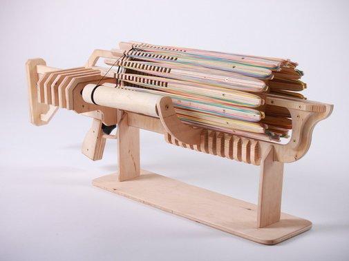 Rubber Band Machine Gun with unique Fast Charger by Alex Shpetniy — Kickstarter