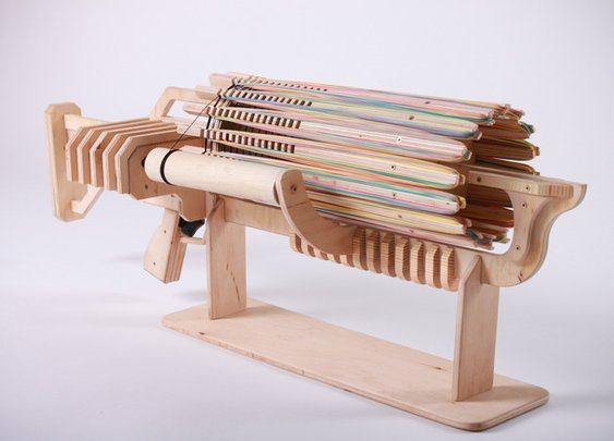 Rubber Band Machine Gun with unique Fast Charger by Alex Shpetniy — Kickstarter