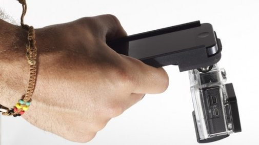 GoPhone turns the iPhone into a hard-mounted GoPro viewfinder