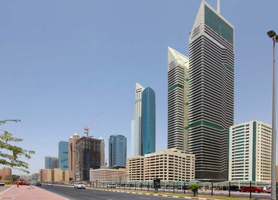 مركز أعمال في برج نسيمة في دبي