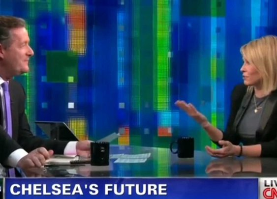 Chelsea Handler Rips Piers Morgan As 'Terrible Interviewer' On Live TV -