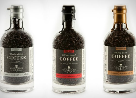 Whiskey Barrel Coffee | Uncrate