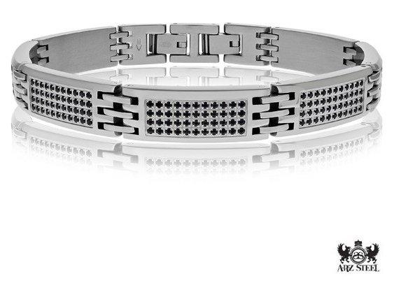 A.R.Z Stainless Steel Bracelet for men