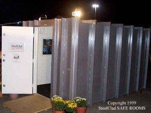 SteelClad Extreme Weather Safe Room | StashVault