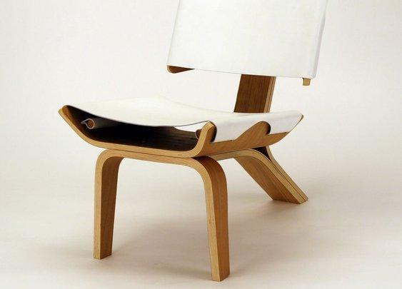 Kurven Chair Design by Cody Stonerock
