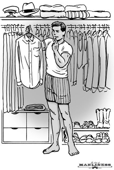 How to Build an Interchangeable Wardrobe | The Art of Manliness