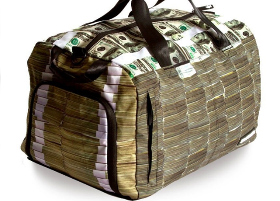 MONEY STACKS DUFFLE BY SPRAYGROUND