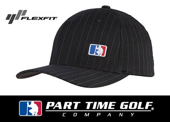 Part Time Golf Company Pinstripe Hat Golf Deal by More Golf Today Deal