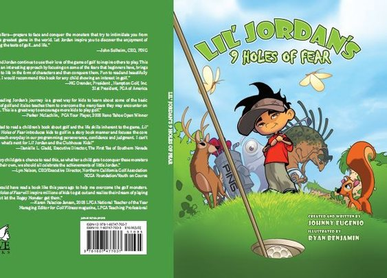 Johnny Eugenio, author, Lil' Jordan's 9 Holes of Fear Golf Deal