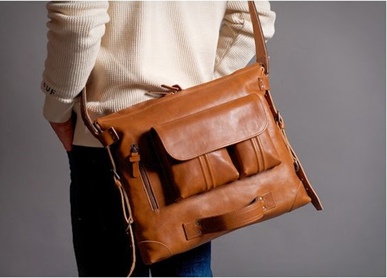 Hard Graft 2Pack Leather Messenger