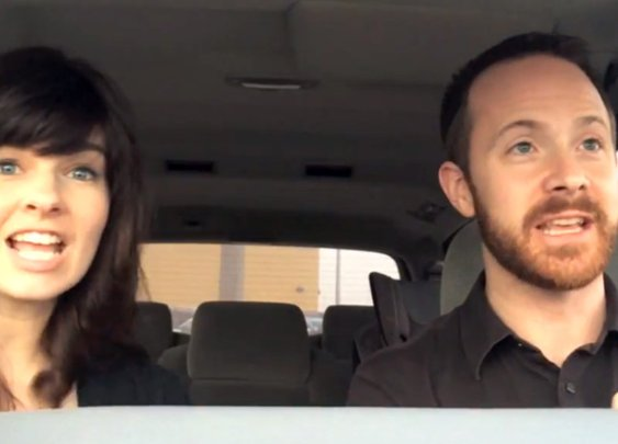 Even cooler parents actually sing Frozen song perfectly